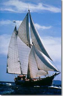 voilier au vent